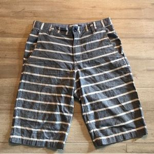 Boys Old Navy Stripped Board Shorts